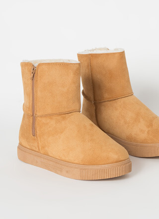 Shearling Beloved Faux Suede Boots