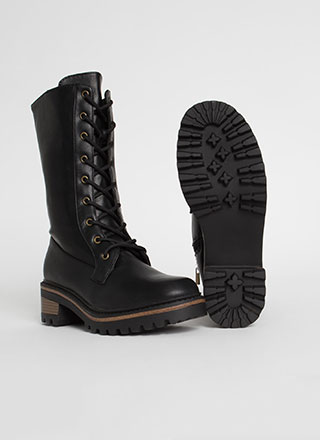 Higher Calling Tall Combat Boots