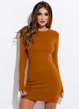 Make Things Easy Knit Minidress