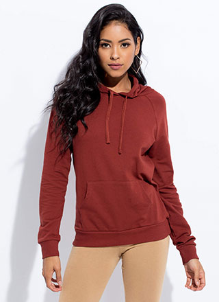 Cool And Casual Slim-Fit Hoodie