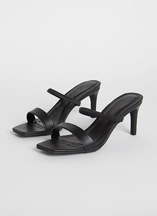 My Strappy Ever After Slip-On Heels