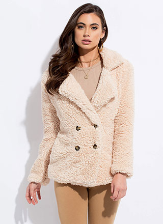 Fur Your Own Good Faux Shearling Coat
