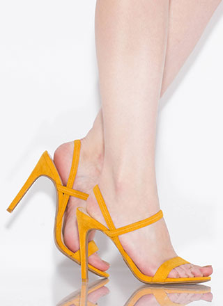 Timeless Silhouette Strappy Heels