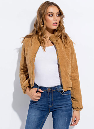 Puff Love Padded Corduroy Jacket