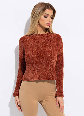 The Soft Life Cable Knit Sweater