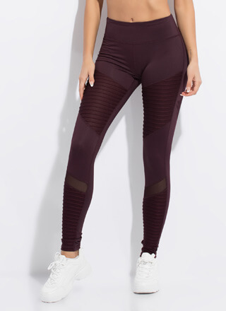 Stay Sporty Mesh Contrast Leggings