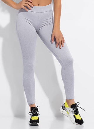 Peachy High-Waisted Push-Up Leggings