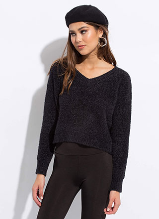 Warm To The Touch Soft Knit Sweater