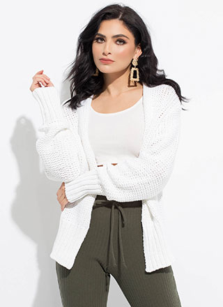 Don't Forget Your Sweater Knit Cardigan