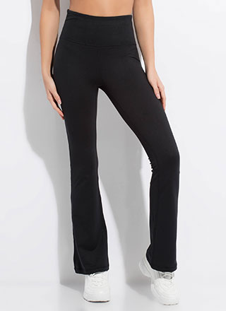 Gym Days Flared Athletic Pants