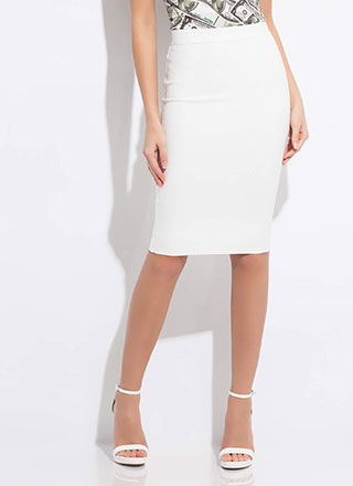 Perfect Fit Bandage Pencil Skirt