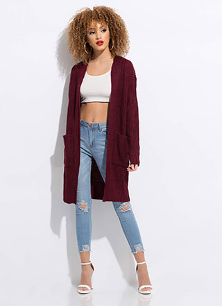 Keep Me Warm Knit Duster Cardigan