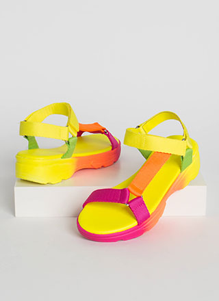 Harness Your Energy Platform Sandals