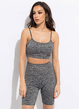 Work It Padded Cropped Tank Top