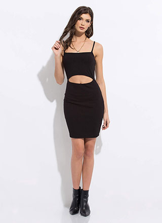 I Want One Two Cut-Out Midi Dress