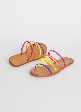Pool Party Jelly Strap Sandals