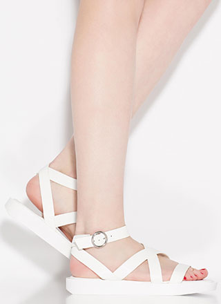 Away For The Weekend Strappy Sandals
