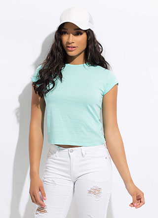 My Favorite T-Shirt Cuffed Basic Tee