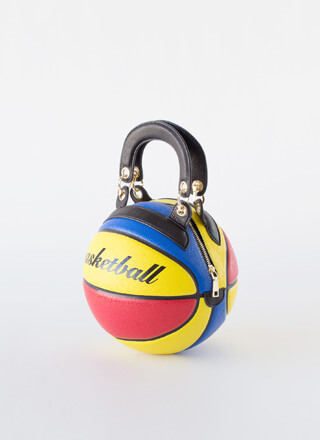 Free Throw Real Basketball Handbag