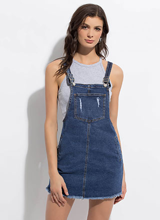 Best Overall Cut-Off Denim Skirtalls