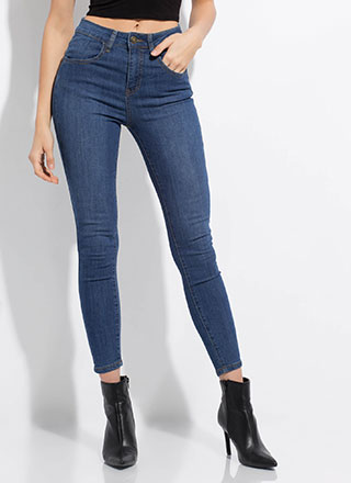Perfect Fit High-Rise Skinny Jeans