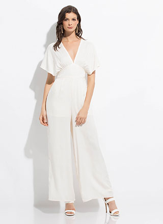 Vacation Rental Dolman Palazzo Jumpsuit