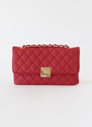 First Class Quilted Envelope Clutch