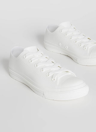 I'm So Jelly Solid PVC Sneakers