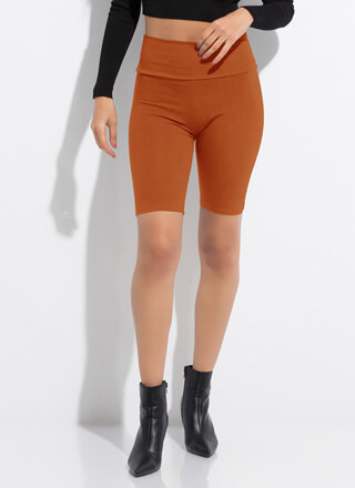 Good Choice High-Waisted Biker Shorts