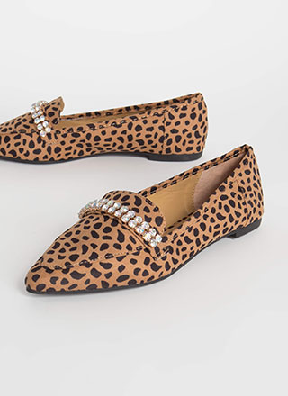 Gleam Catcher Jeweled Smoking Flats