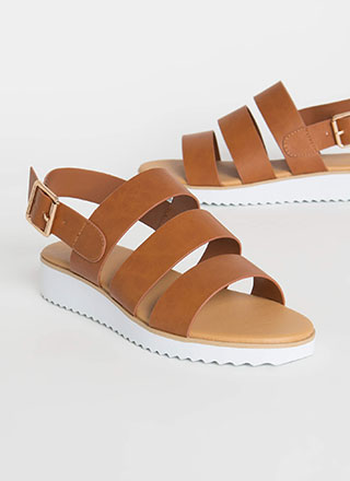 Wherever Whenever Strappy Sandals