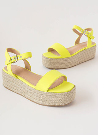 Beach House Braided Wedge Sandals