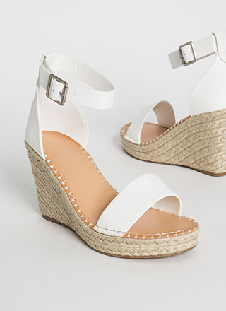 Senorita Braided Espadrille Wedges