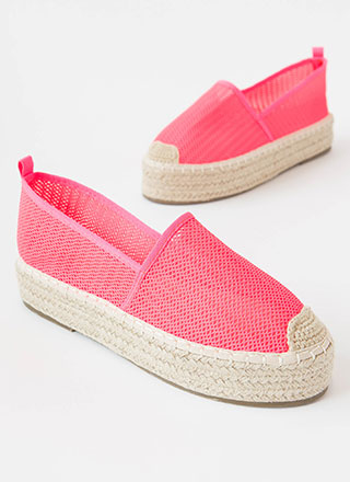 Easy Feet Braided Mesh Moccasin Flats