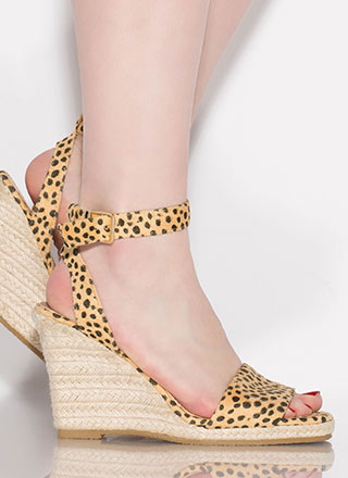 Vacation Home Espadrille Wedges