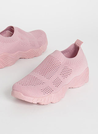 Perfect Form Slip-On Knit Sneakers