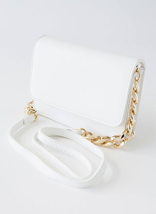 So Clutch Chain Strap Purse