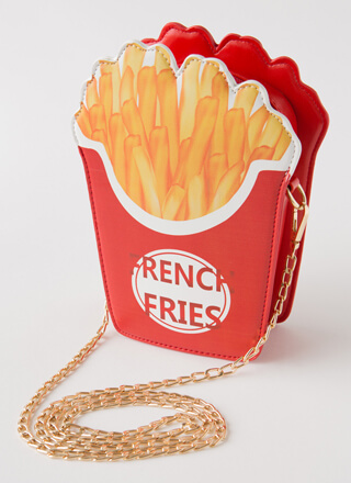 Fries Before Guys Novelty Clutch