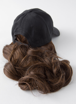 Wigging Out Faux Hair Cap