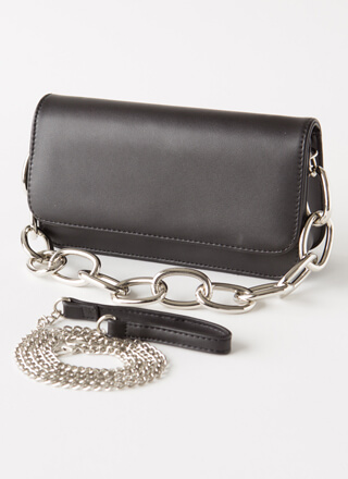 Edgy Update Chain Strap Purse