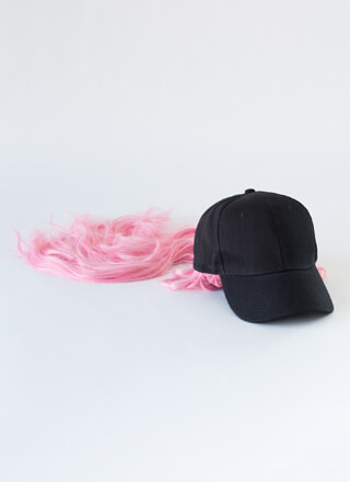 Wig Snatched Faux Hair Cap