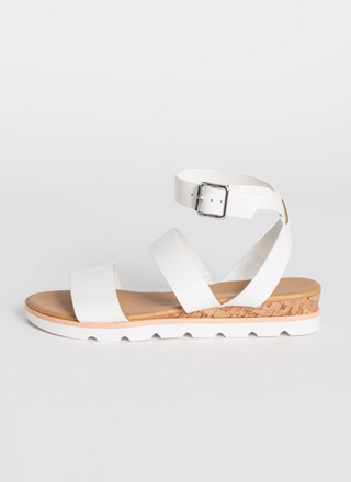 Beach House Ankle Strap Sandals