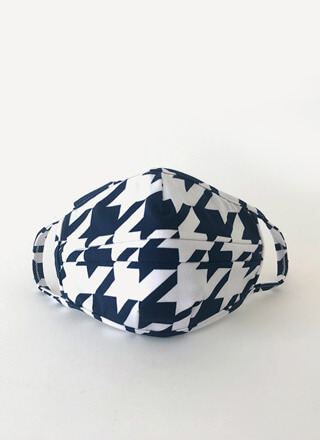 It's Fashion Houndstooth Face Mask