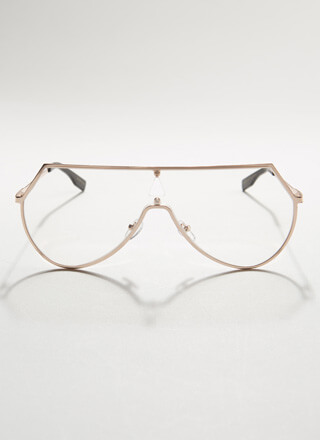Round These Parts Cut-Out Reader Glasses
