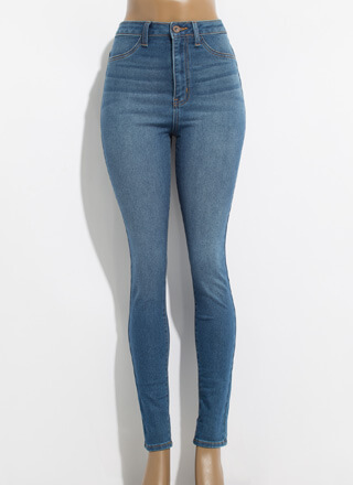 What You Want High-Waisted Skinny Jeans