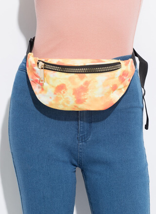 Going Places Tie-Dye Fanny Pack