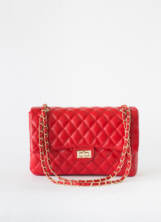 Bigger Is Better Quilted Handbag