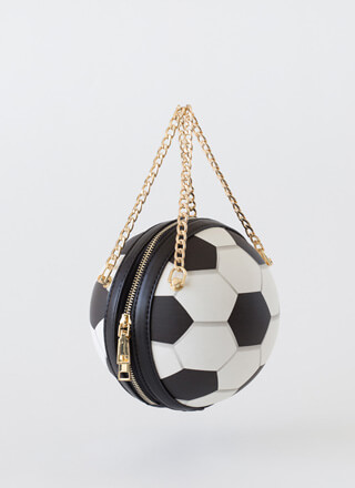 Goalie Soccer Ball Novelty Handbag