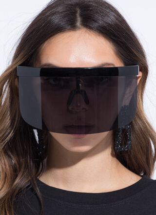 Shield Yourself Visor Sunglasses