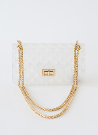 The Classic Faux Quilted Jelly Purse
